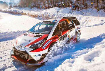 WRC: Latvala, líder en Suecia