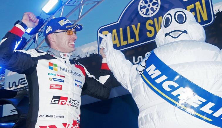 WRC:  Latvala ganó en Suecia y Toyota volvió al triunfo