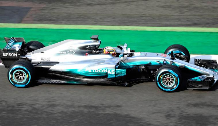 Fórmula 1: Así es el nuevo Mercedes W08