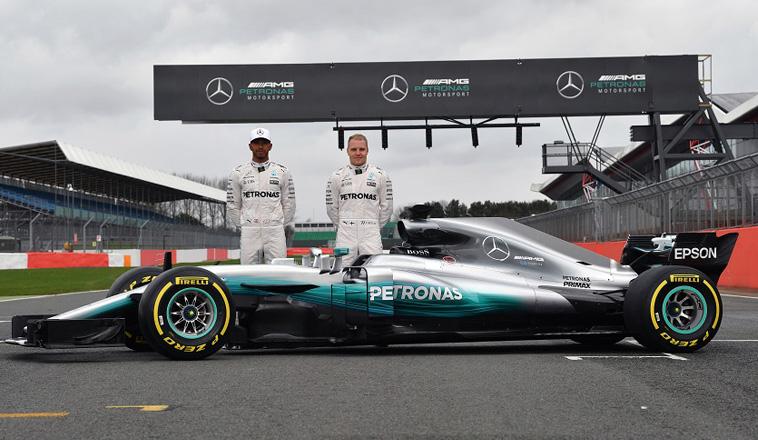 Fórmula 1: El campeón presenta armas…Mercedes W08