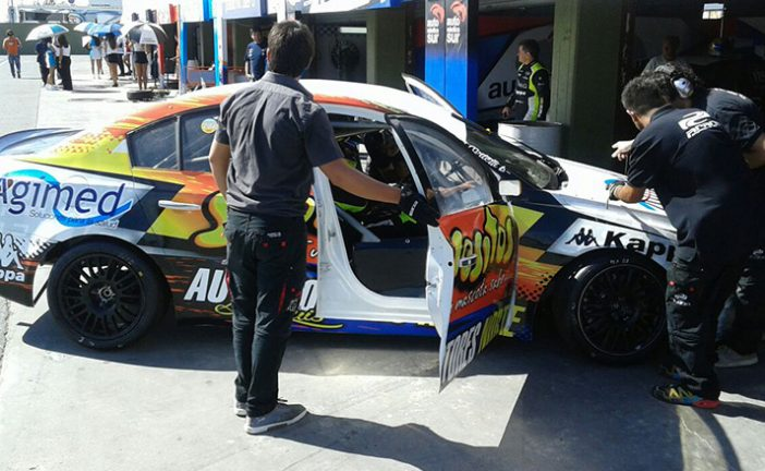 TN C3: Ortelli aceleró en el primer entrenamiento