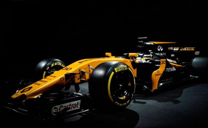 Fórmula 1: Se reveló el RS17, el arma de Renault Sport para 2017