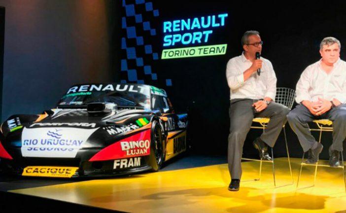 TC: Renault presentó el equipo