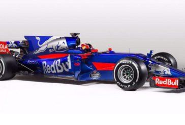 Fórmula 1: Toro Rosso presenta su vistoso monoplaza, el STR12
