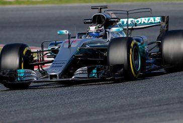 Fórmula 1: Bottas se hace con el mejor tiempo en la mañana del tercer día de tests