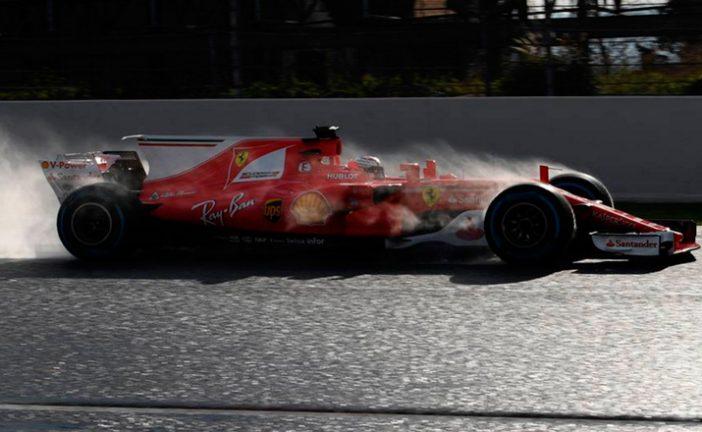 Fórmula 1: Ferrari al frente en una deslucida cuarta jornada de test