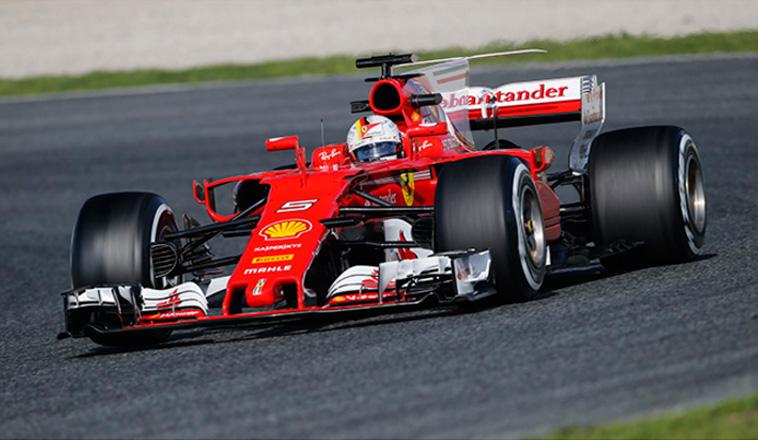 Fórmula 1: Ferrari manda un aviso a Mercedes en el séptimo día de tests