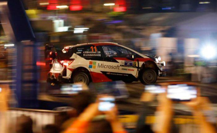 WRC: Hanninen al frente en el Rally de México