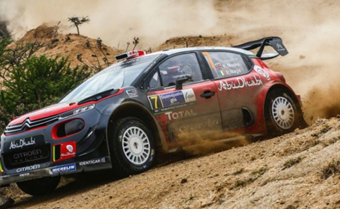 WRC: Meeke saborea el triunfo en México