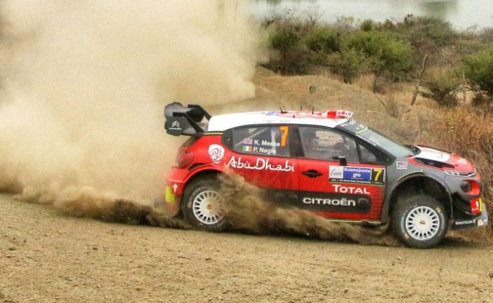 WRC: Meeke sigue liderando