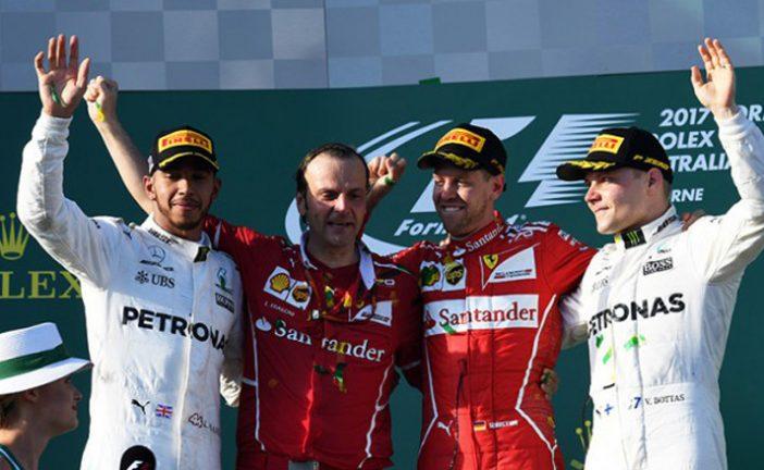 Fórmula 1: Vettel se llevó el triunfo en Australia
