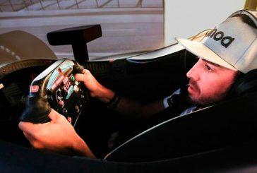 Indy Car: Alonso tuvo una sesión en el simulador de Indy
