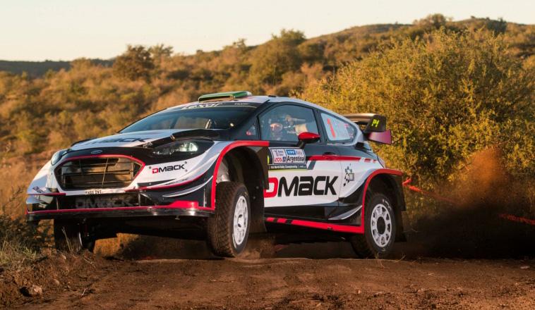 WRC: Evans es líder por un minuto