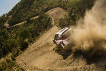 WRC: Evans y Neuville cabeza a cabeza en Córdoba