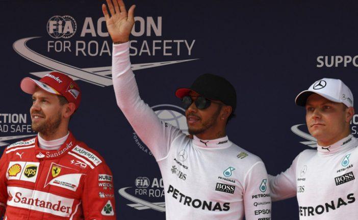 """Fórmula 1: Hamilton sigue siendo el """"Poleman"""""""