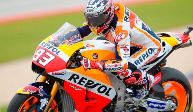 MotoGP: En una batalla con Viñales, Márquez se lleva la Pole en Austin