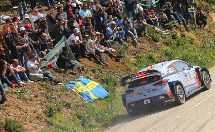 WRC: Neuville líder en un día muy intenso