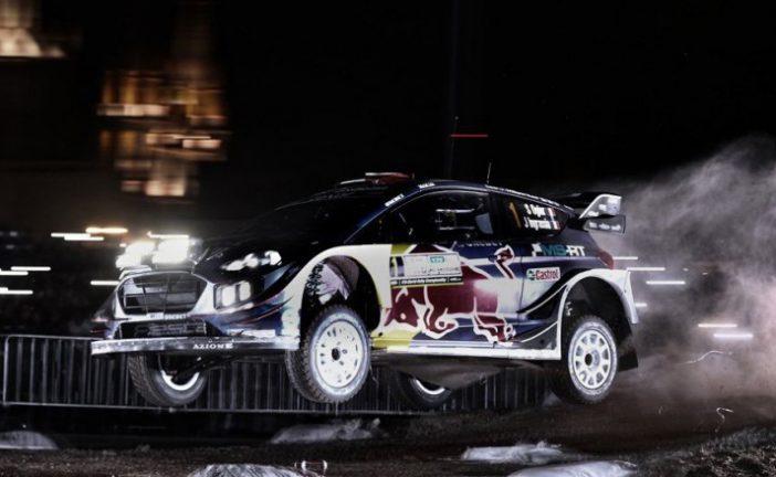 WRC: Ogier ganó la súper especial nocturna