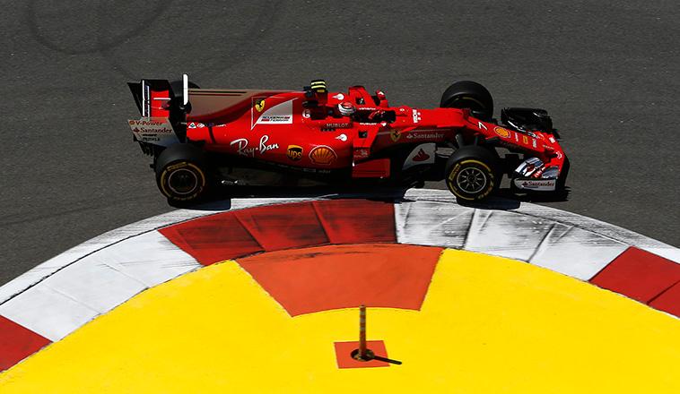 Fórmula 1: Räikkönen marcó el camino en Sochi