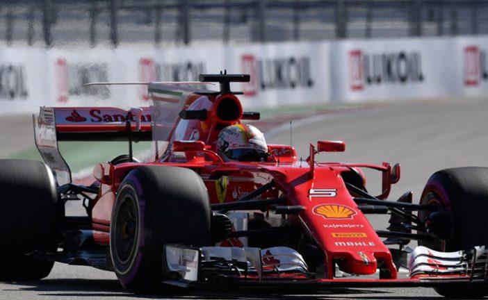 Fórmula 1: Ferrari no aflloja en Sochi, Vettel el más rápido en los libres2