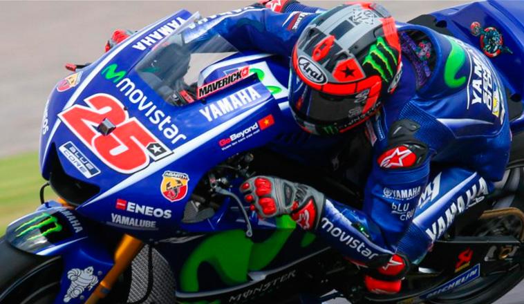 MotoGP: Viñales comenzó al frente en Termas de Río Hondo