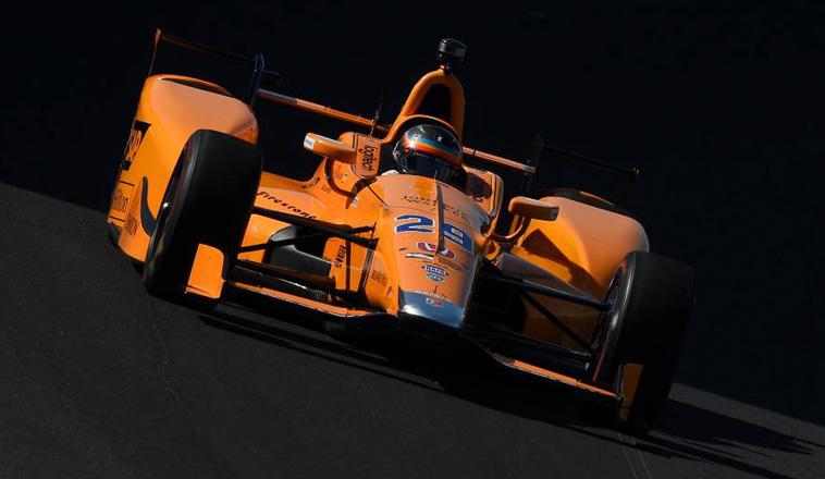 Indy Car: Sólido comienzo de Alonso en Indianápolis