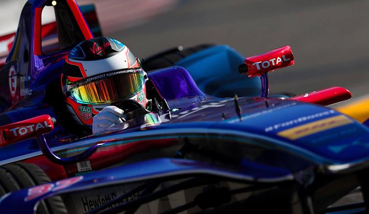 """Fórmula E: """"Pechito"""" tuvo una muy buena clasificación"""