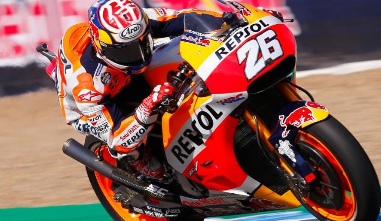 MotoGP: Pedrosa mantiene su dominio en Jerez de la Frontera