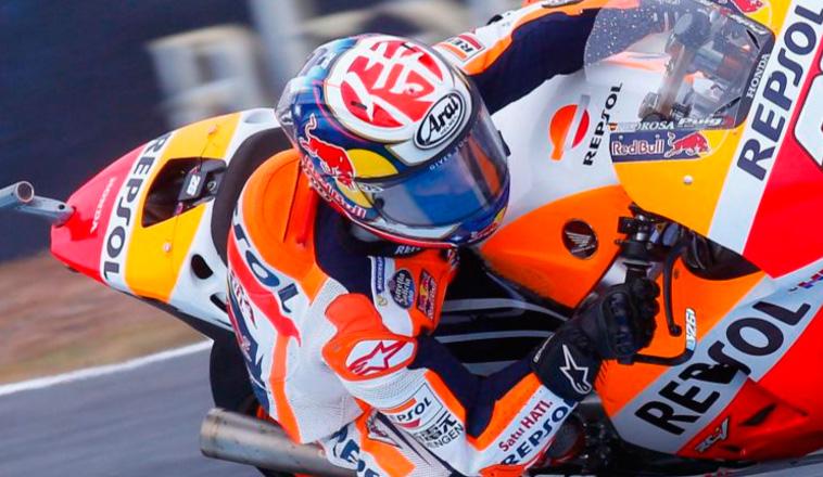 Moto GP: Pedrosa lidera la FP1 marcada por la lluvia