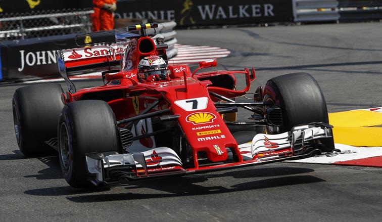 Fórmula 1: Räikkönen consigue la pole en Mónaco