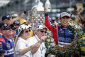 Indy Car: Takuma Sato, primer japonés en ganar las 500 millas