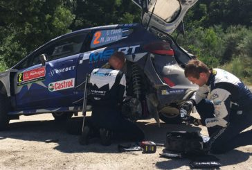WRC: Tänak pierde el liderazgo