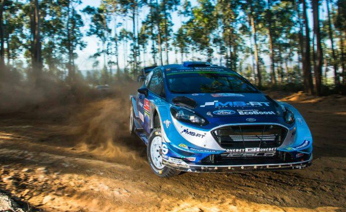WRC: Tannak termina el viernes como líder