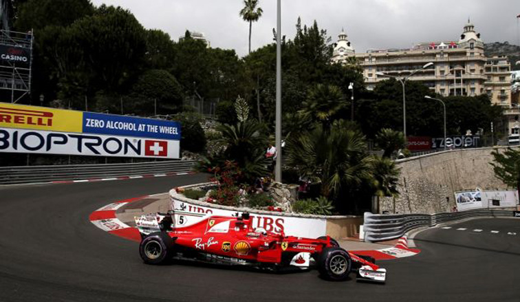 Fórmula 1: Vettel en lo más alto de Mónaco a ritmo de récord