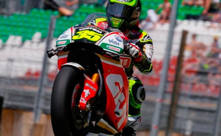 MotoGP: Crutchlow se cuela en un primer día 'Ducatista'