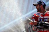 MotoGP: Dovizioso reina en el calor de Catalunya