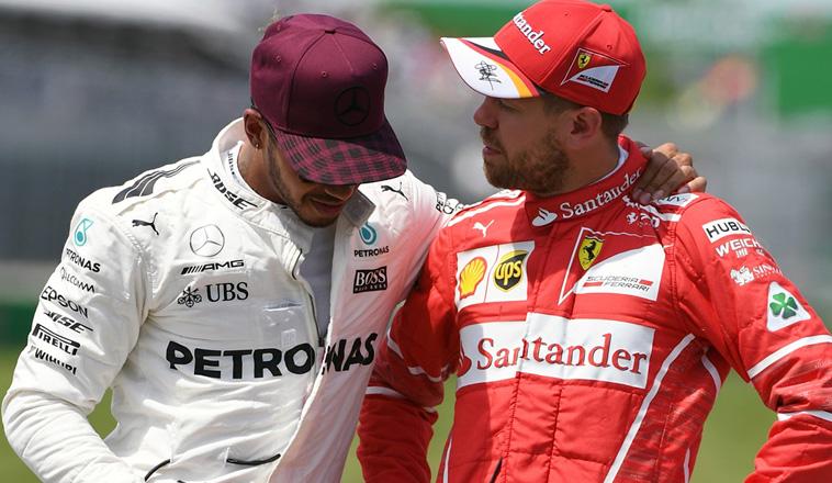 Fórmula 1: La telemetría le da la razón a Hamilton en su incidente con Vettel