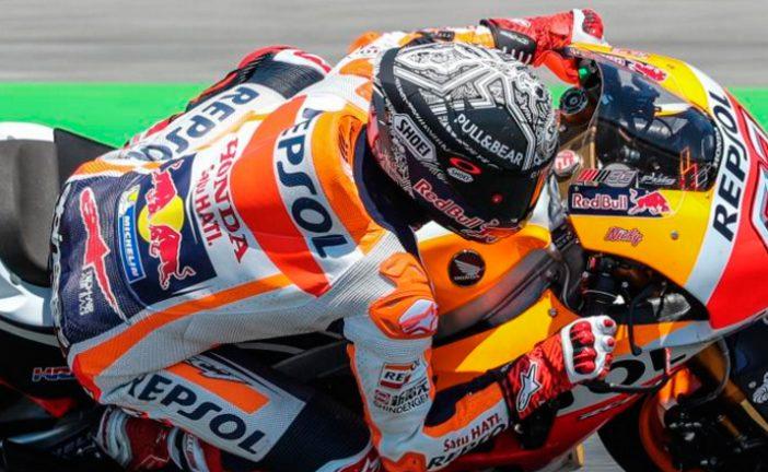 MotoGP: Márquez se impone en el test de Catalunya
