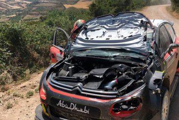 WRC: Meeke vuelca cuando era líder