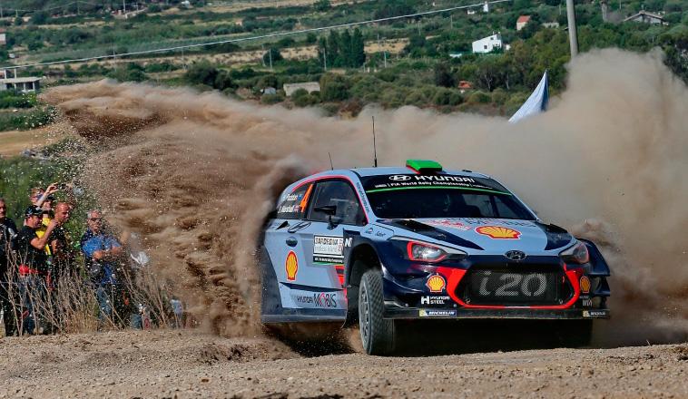 WRC: Paddon marcó el ritmo en Italia