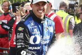 Indy Car: Graham Rahal barrió con todo en Detroit