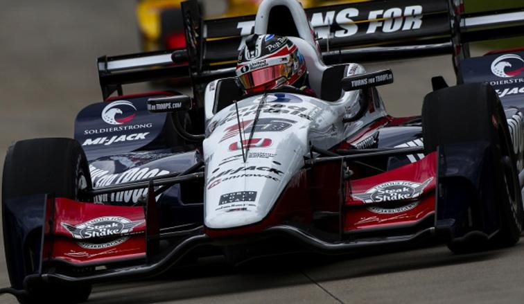 Indy Car: Rahal domina en Detroit