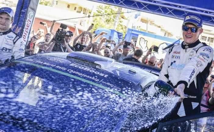 WRC: Tänak obtiene su primera victoria