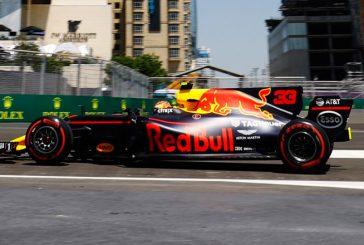 Fórmula 1: Red Bull domina los primeros en Bakú