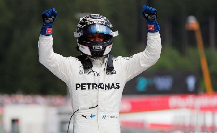 Fórmula 1: Bottas gana en Austria