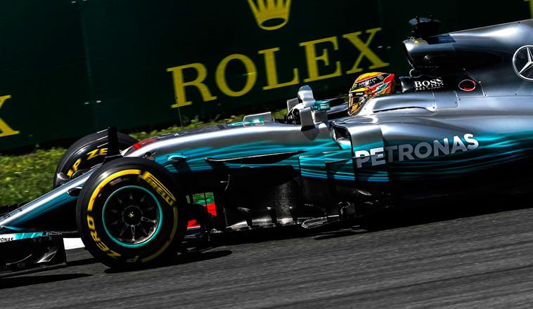 Fórmula 1: La presión de Vettel no doblegó a Hamilton