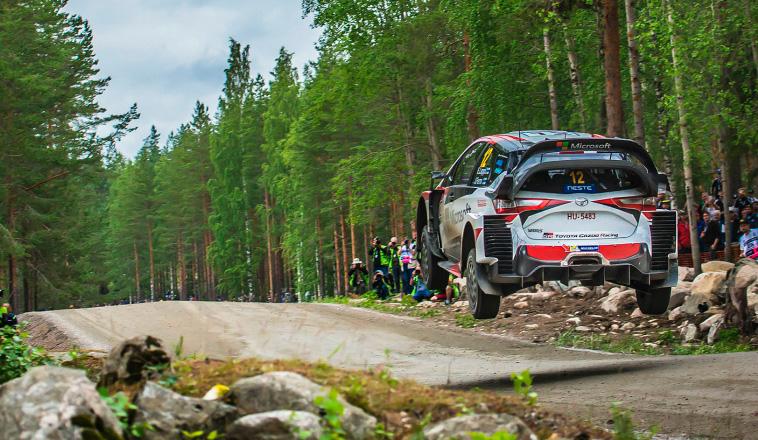 WRC: Lappi encabeza el doblete de Toyota