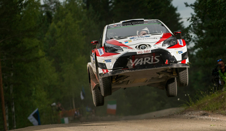 WRC: Lucha de titanes finlandeses