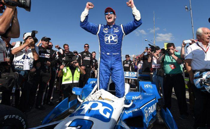 Indy Car: Newgarden gana en Mid-Ohio y toma la punta del campeonato