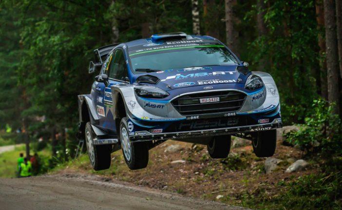WRC: Tänak líder en el primer día